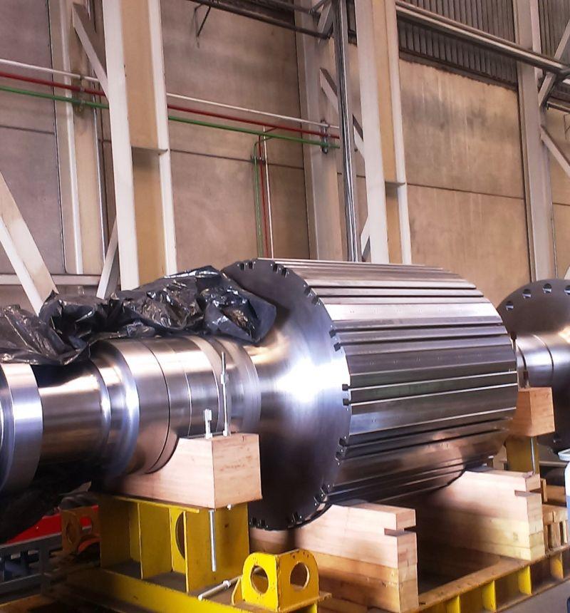 Machining of motor shafts